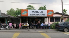 Warung Wallpaper Background