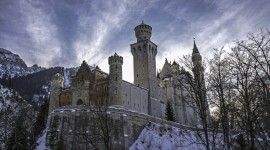 Winter Castle Photo Free