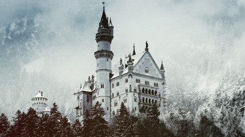 Winter Castle wallpapers high quality