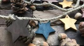 Wooden Star Desktop Wallpaper HD
