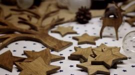 Wooden Star Photo