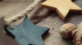 Wooden Star Wallpaper