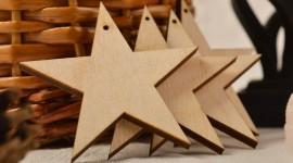 Wooden Star Wallpaper For Desktop