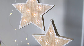 Wooden Star Wallpaper Free