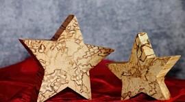 Wooden Star Wallpaper HQ