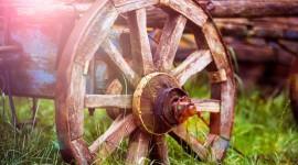 Wooden Wheel Best Wallpaper