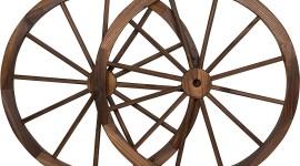 Wooden Wheel Image