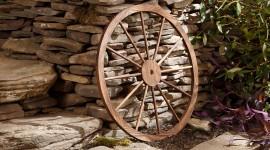 Wooden Wheel Photo