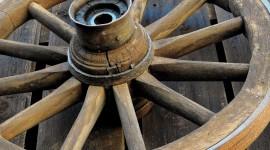 Wooden Wheel Photo Download