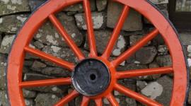 Wooden Wheel Wallpaper For Mobile#1