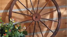 Wooden Wheel Wallpaper For PC