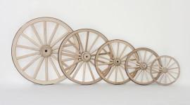 Wooden Wheel Wallpaper Free