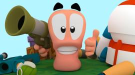 Worms 3D Desktop Wallpaper