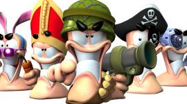 Worms 3D Desktop Wallpaper HD
