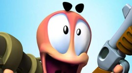 Worms 3D Wallpaper For IPhone