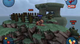 Worms 3D Wallpaper For PC