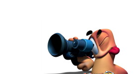 Worms 3D Wallpaper Free