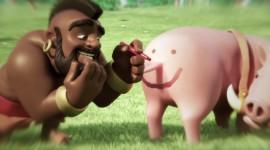 4K Funny Pig Image