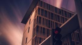 4K Traffic Lights Wallpaper For IPhone