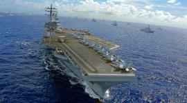 Aircraft Carrier Desktop Wallpaper