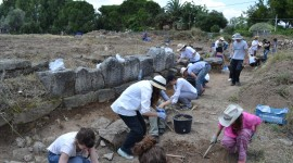 Archaeological Excavations Wallpaper