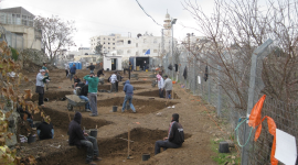 Archaeological Excavations Wallpaper Background
