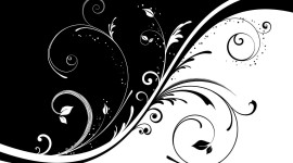 Black And White Abstracts For PC