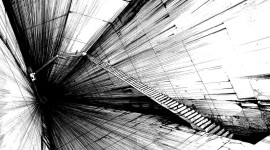 Black And White Abstracts Wallpaper HQ