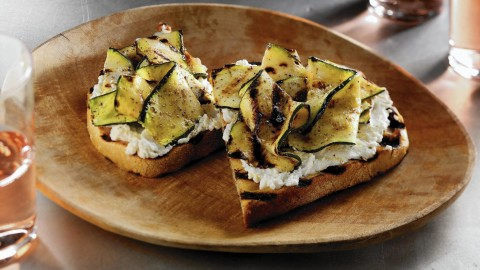 Bruschetta With Grilled Zucchini wallpapers high quality