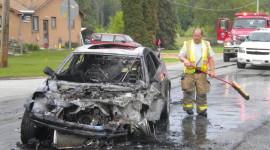 Burning Car Wallpaper Download Free