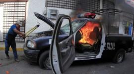 Burning Car Wallpaper Gallery