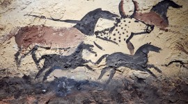 Cave Painting Desktop Wallpaper Free