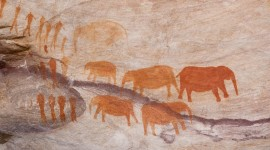 Cave Painting Desktop Wallpaper HD