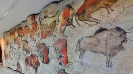 Cave Painting Wallpaper Background