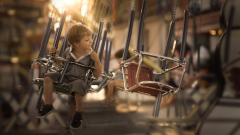Children Carousels wallpapers high quality
