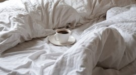 Coffee In Bed Wallpaper For Desktop