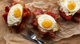Eggs And Bacon Wallpaper