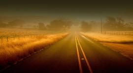 Field Road Desktop Wallpaper