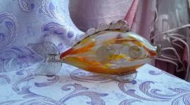 Fish Glass Wallpaper Full HD