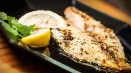 Fish With Lemon Wallpaper Full HD
