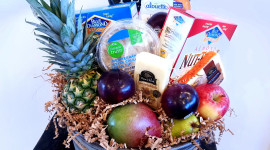Fruit Gift Basket Wallpaper Download Free