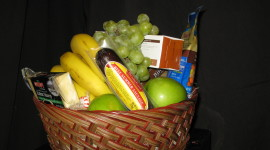 Fruit Gift Basket Wallpaper For Desktop