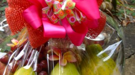Fruit Gift Basket Wallpaper For IPhone Free