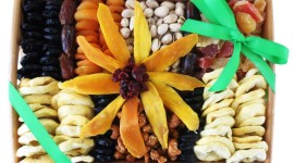 Fruit Gift Basket Wallpaper HD