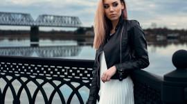 Girl Model Bridge Image
