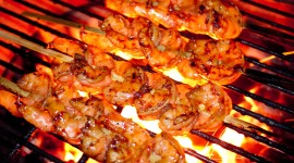 Grilled Shrimp Wallpaper Free