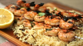 Grilled Shrimp Wallpaper High Definition