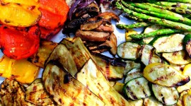 Grilled Vegetables Aircraft Picture