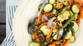 Grilled Vegetables Desktop Wallpaper