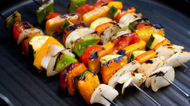Grilled Vegetables Desktop Wallpaper For PC